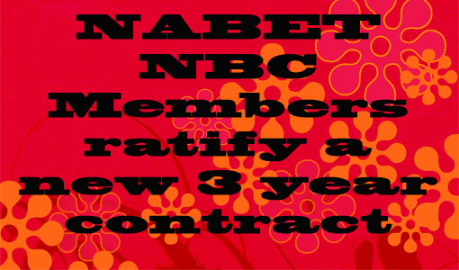 New 3 year NBC Contract