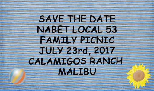 Picnic 2017 - Save the Date